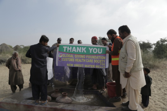People of Thar thank Global Giving for water wells