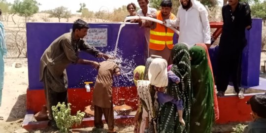 New Water Well for People of Thar