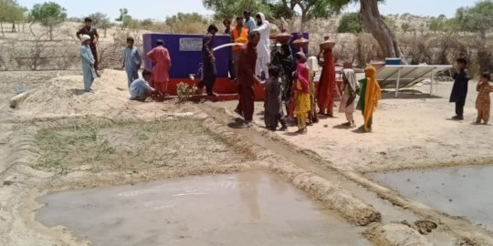 Green Farm being developed with water from well