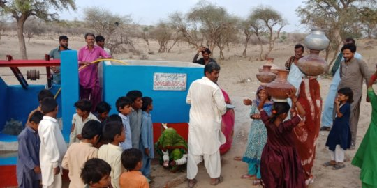 A New Water Well in Thar
