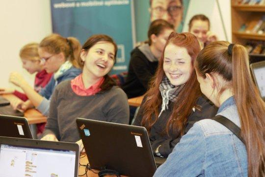 Scratch workshop in Bratislava
