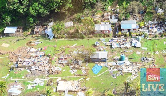 Emergency Disaster Relief for Moturiki Fiji