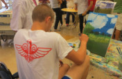 Art Therapy Workshop for Rehabilitating Soldiers