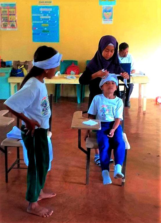 Emergency response training for mini-nurses