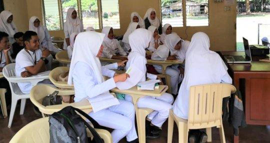 Nurses in the classroom