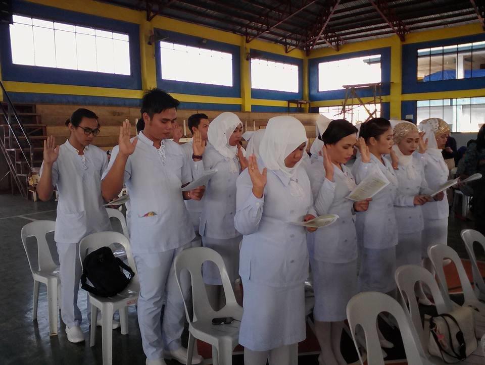 SSC Grads Join Philippine Nurses Assoc. Sulu Chapt