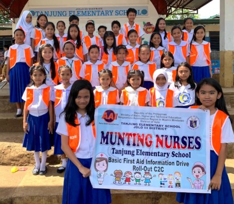 2019 Mini-Nurse Group at Tanjung ES