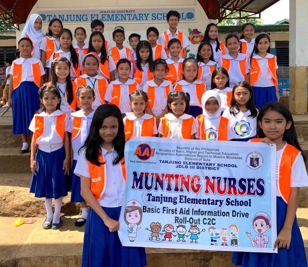 2019 Mini-Nurse Group at Tanjung ES