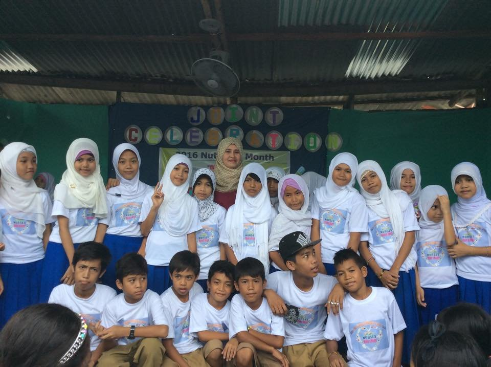 Future nurses volunteer in Sulu elementary schools