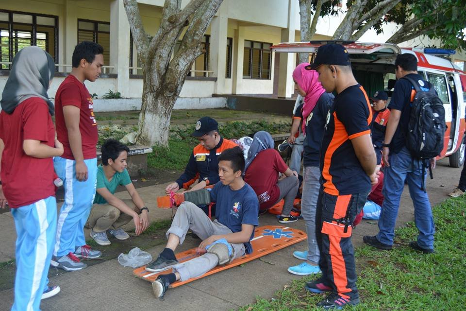 Emergency Response training at Sulu State College