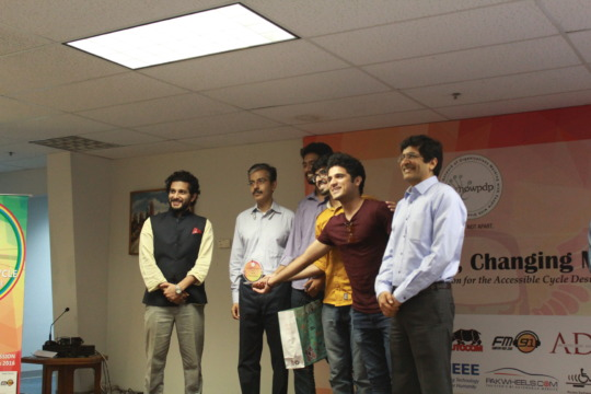 Most Innovative Design team from NUST Karachi