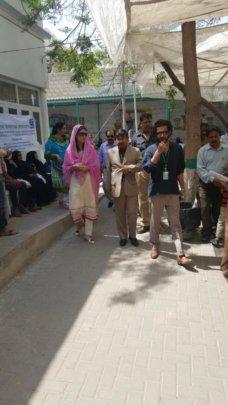 Hosting Government representatives