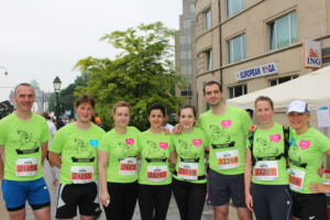 Part of our 20Km team