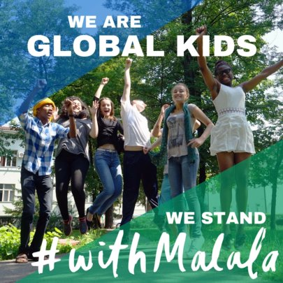 25 Youth in Washington, D.C. Stand #withMalala