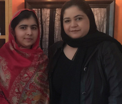Women for Afghan Women Stand #withMalala - U.S.