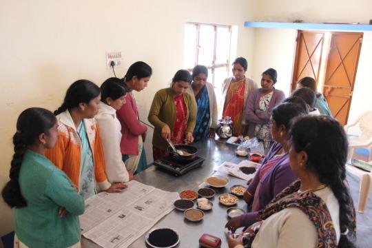 Herbal medicine preparation during the programme