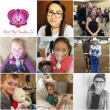 A few of the CF patients we have helped this year