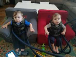 Mason and Grayson, Twins with Cystic Fibrosis