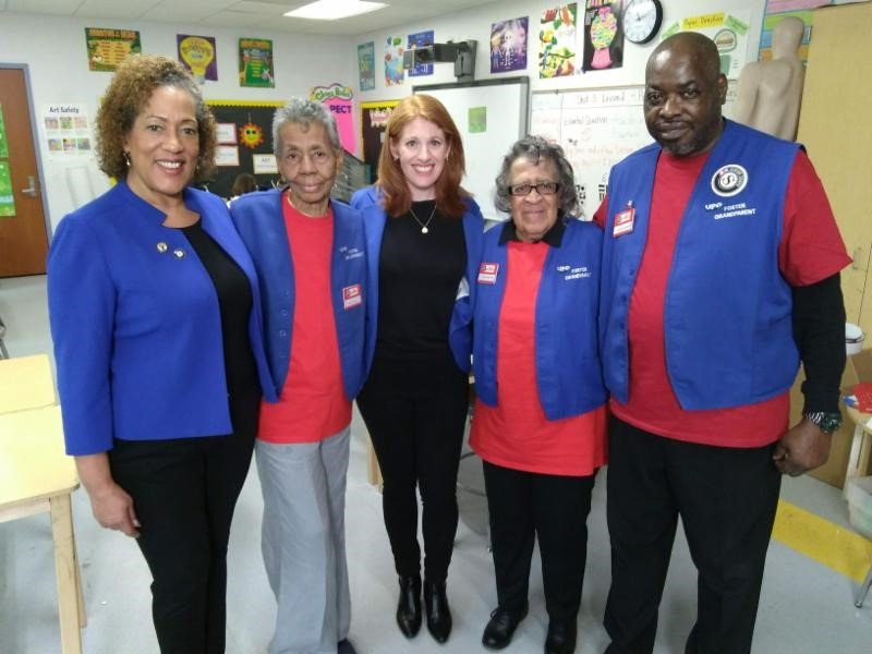 ABC News visits UPO Foster Grandparents Program