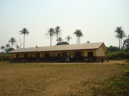 Typical village school