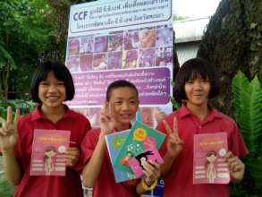 Free printed materials distributed at the fair