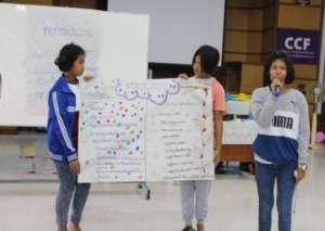 Presentation in understanding of sex education