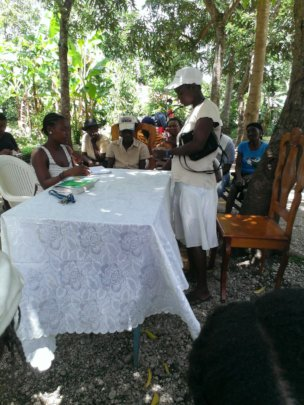 revenue creation for 150 women in rural Haiti