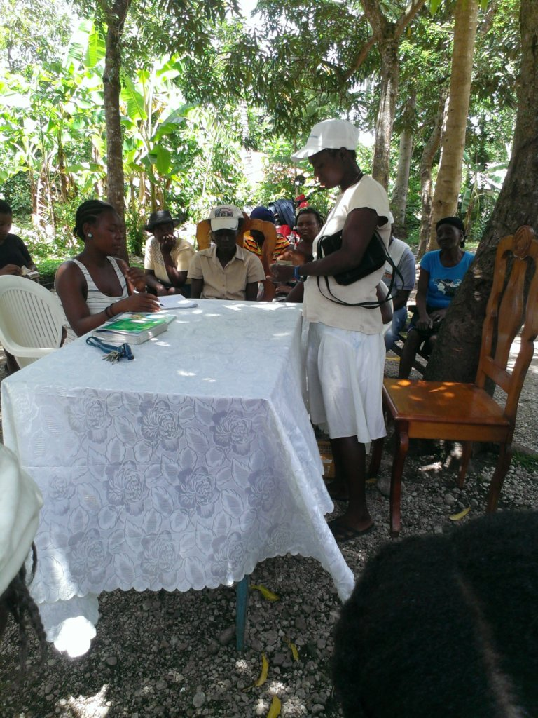 revenue creation for 150 women in rural Haiti