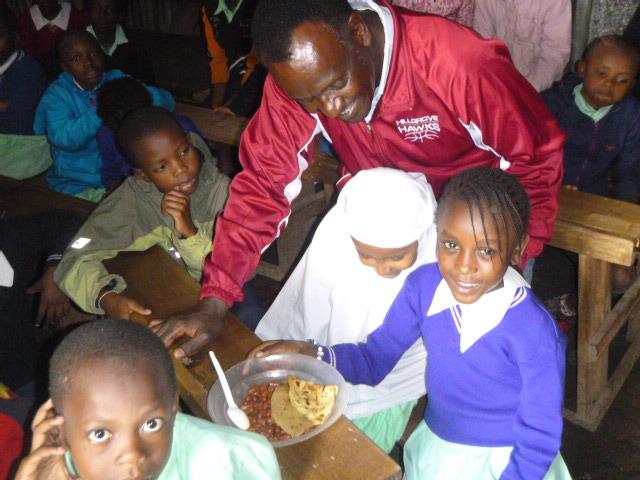 Project leader Pastor David Kimama