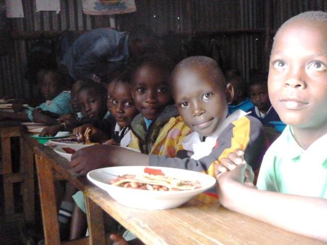 Food program for slum children