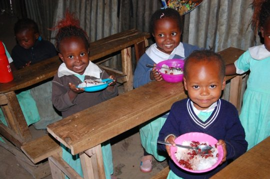 feeding program to the vulnerable children