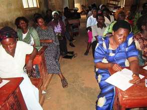 Borrowers attend a health and education seminar