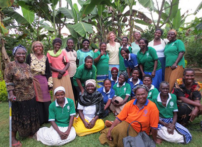 Ladies from the Busita loan group