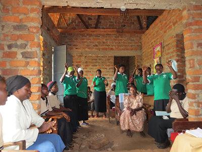 Ladies of the Mutufu sub-hub thank WMI