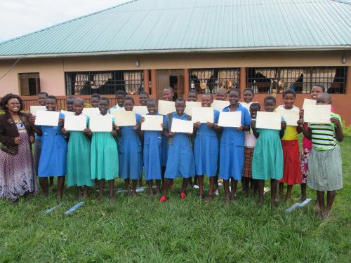 Girls Group Graduation