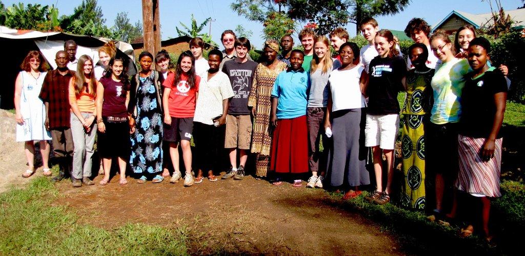 The Walt Whitman High School Interns in Buyobo, UG