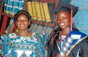 Lydia Graduates from University