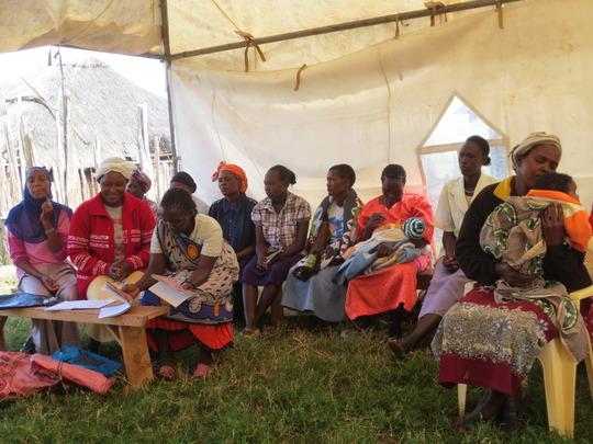 Training in Ngarendare, Kenya