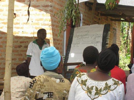 WMI borrowers receive business training