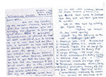 Thank you letters from children of WMI borrowers
