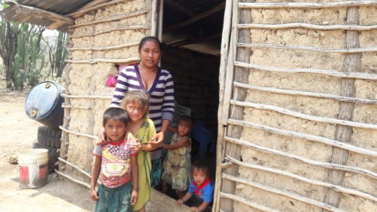 Madre e hijos Wayuu
