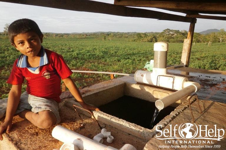 Clean water for 550 people in Villa Alvarez
