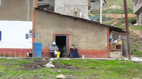 Local people are still living in poverty