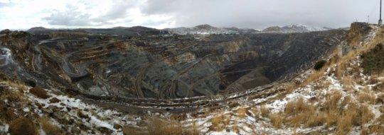 Open-pit mine!