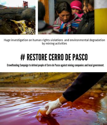 Campaign #Restore Cerro de Pasco