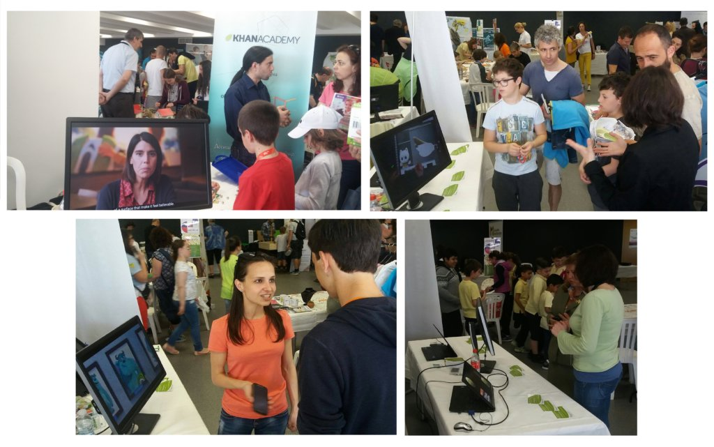 Our team at Sofia Science Festival 2017