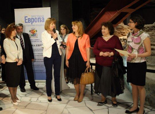 Sofia mayor welcomes new KA project in 2 school