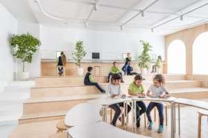 Renewed hall in Primary School, Sveti Vlas