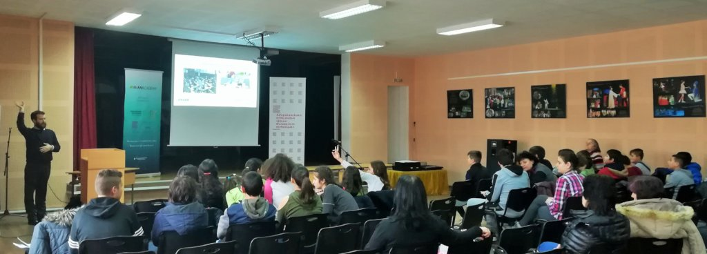 Presentation at the Primary School in Stara Zagora