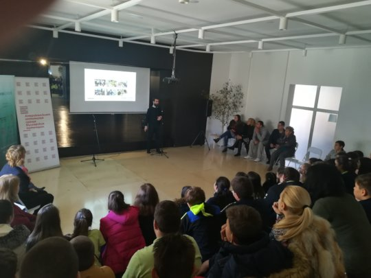 Presentation at the Primary School in Sveti Vlas